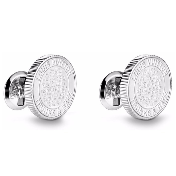 18AW【新作】ルイヴィトン☆MEDALLION CUFFLINKS☆カフリンク