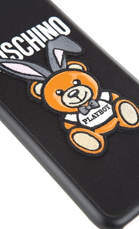 【国内即納】新作!MOSCHINO☆Teddy Playboy iPhone 6/6S/7カバー