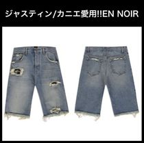 ジャスティン カニエ愛用☆EN NOIR☆COBAIN WASH CUT OFF SHORTS