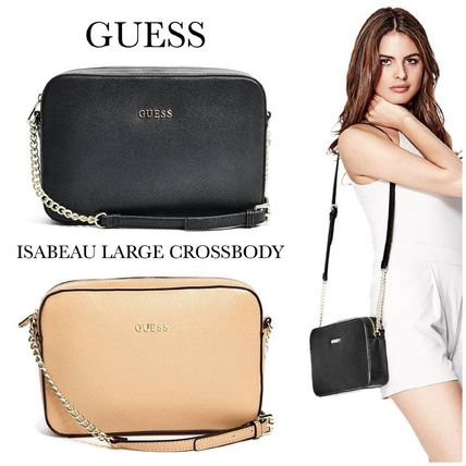 ☆GUESS☆新作♪ISABEAU*サフィアノクロスボディバッグ*ラージ☆