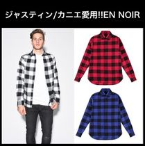 ジャスティン カニエ愛用☆EN NOIR☆JAGGER SHIRT BUFFALO CHECK