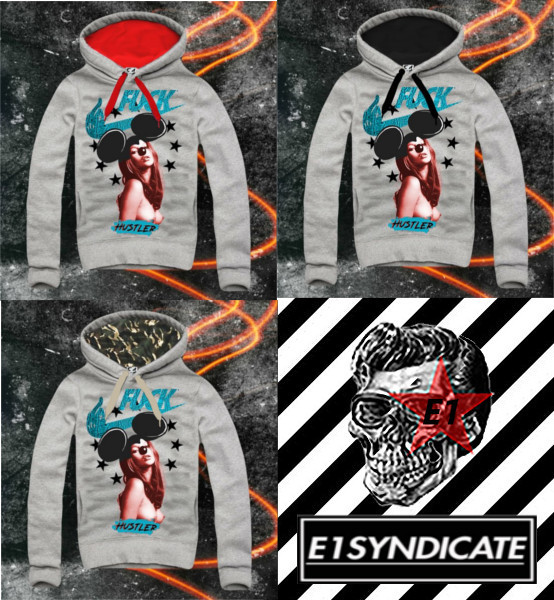 人気爆発!!☆E1SYNDICATE☆ パーカー KATE MOSS MICKEY COLOR