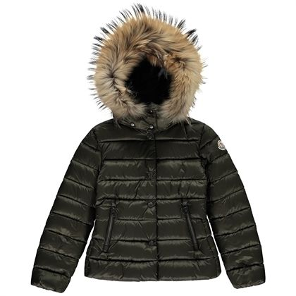 "17-18 AW大人も着れるMoncler "" Alice"" カーキ(-14y)"