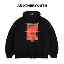 ANOTHERYOUTH正規品★ヘビーコットンジップアップ★UNISEX