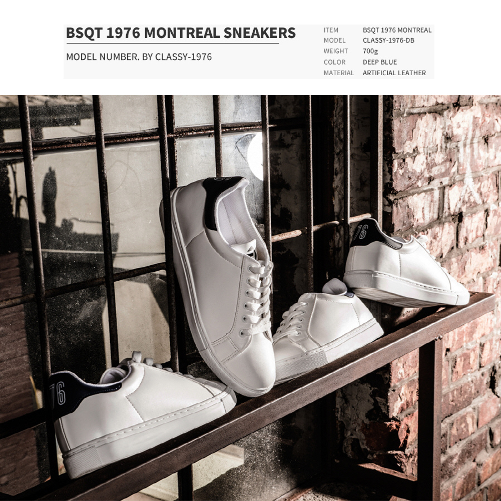 ★韓国の人気★BSQT★1976 MONTREAL SNEAKERS DEEP BLUE★