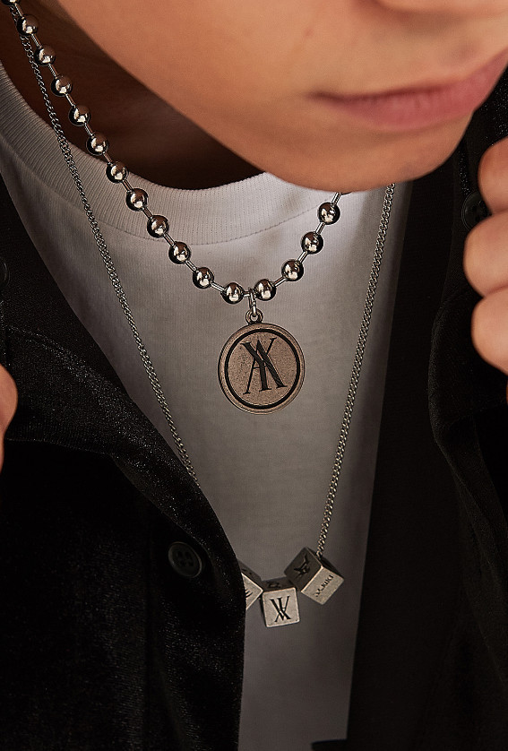 ☆ANOTHERYOUTH☆ 3 cube necklace 男女兼用