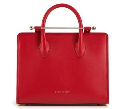 大人気★完売続出! The Strathberry Midi Tote - Ruby