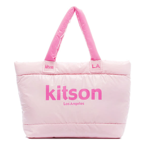 kitson LA キットソン トートバッグ 台湾限定色 PINK x PINK
