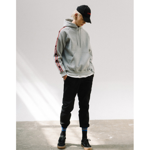 ★ACOVER★ACOVER TAPE HOODIE(GY)