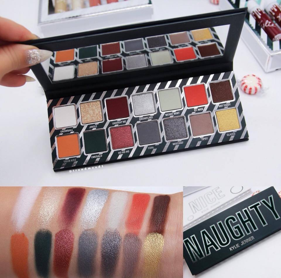 HOLIDAYCOLLECTION  THE NAUGHTY PALETTE アイシャドウパレット