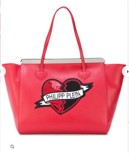 PHILIPP PLEIN Heart トートバッグ