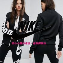 NIKE☆Polyknit Tracksuit Top With Just Do It Arm Logo♪
