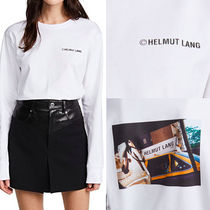 HELMUT LANG(ヘルムート ラング) Tシャツ・カットソー Helmut Lang ロング Tシャツ ロゴ 長袖 カットソー
