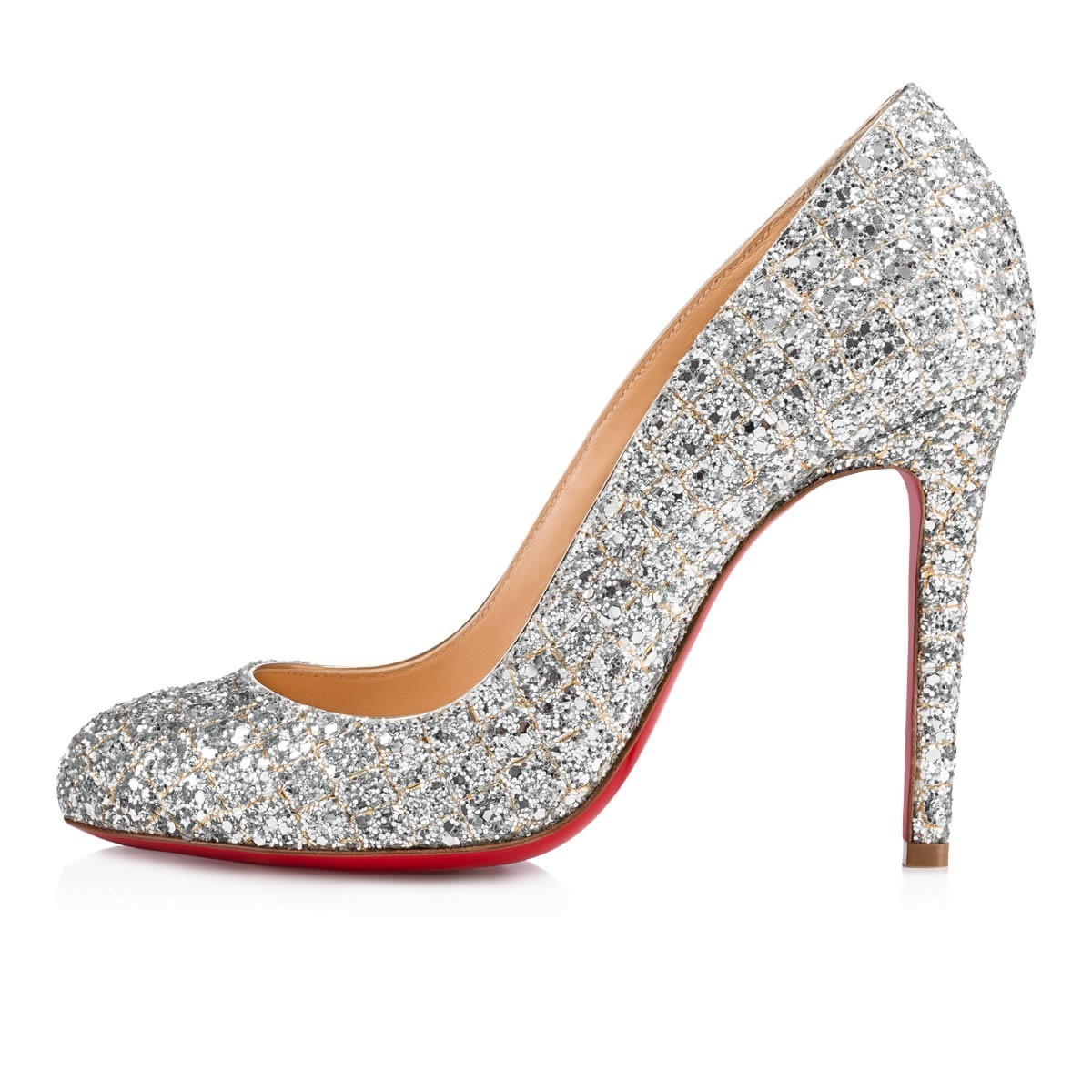 《Christian Louboutin》 Pigalle Follies Aliglitter  パンプス
