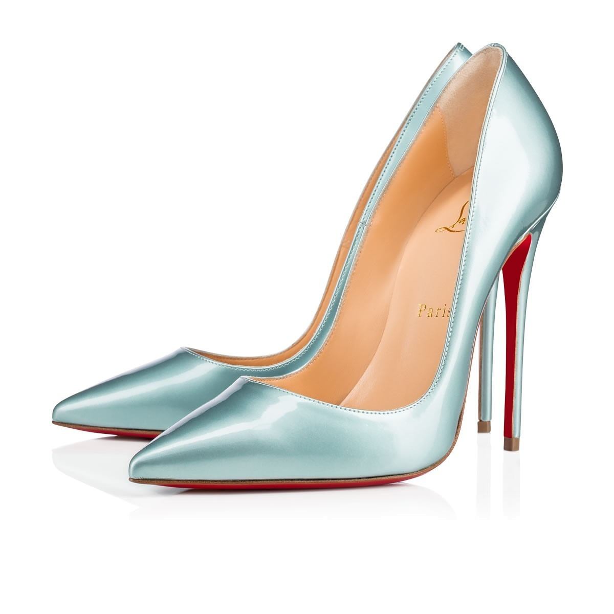 《Christian Louboutin》SO KATE VERNIS SATIN  パンプス 120mm