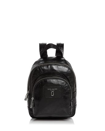 MARC JACOBS☆ Double Pack Mini Leather Backpack