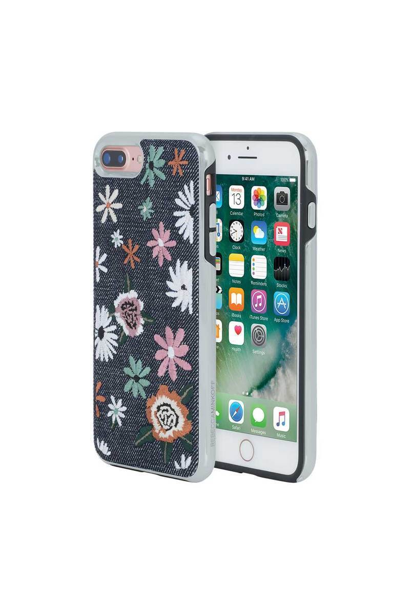 特価!Rebecca Minkoff☆FLORAL EMBROIDERY IPHONE 7PLUS,8PLUS