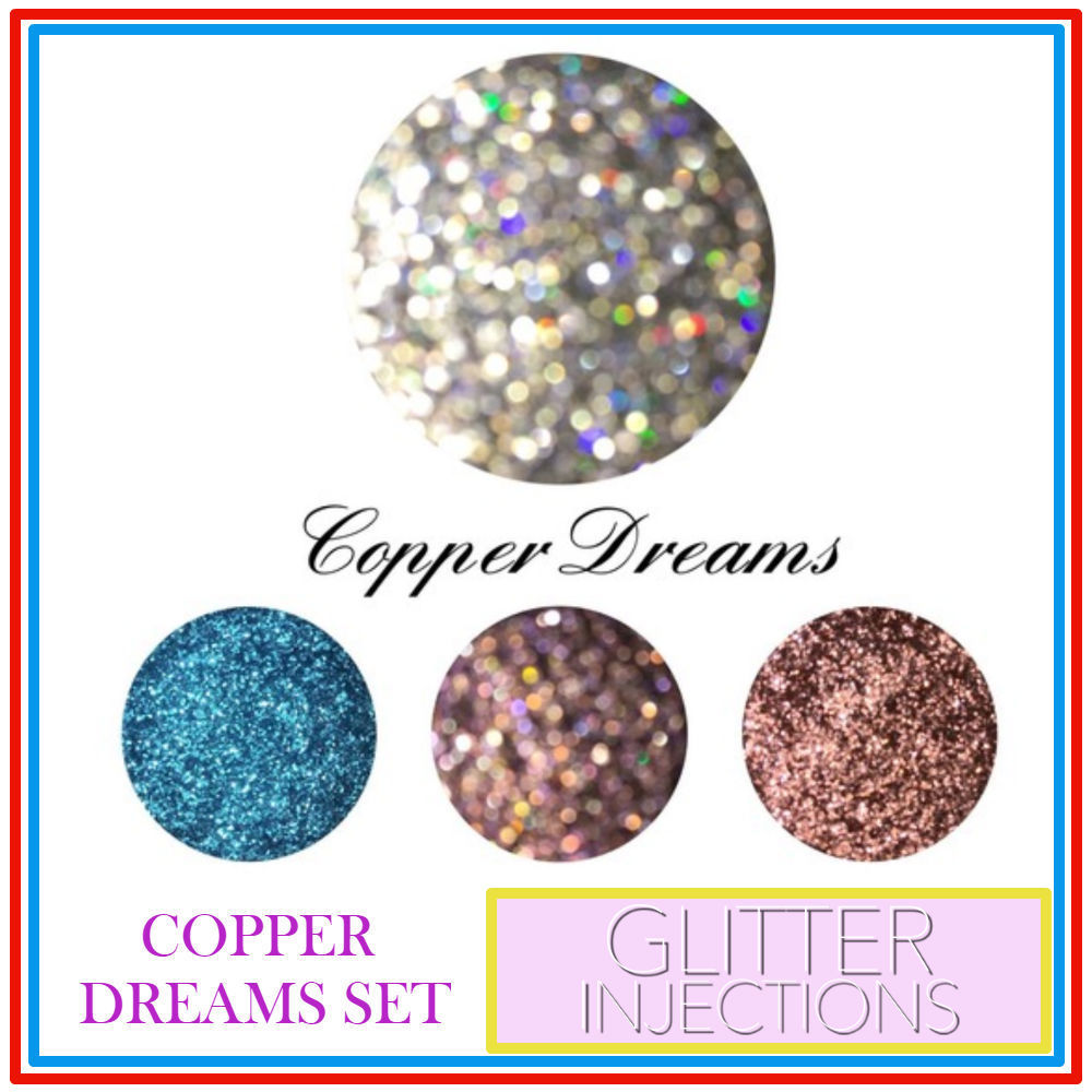 ♪GLITTER INJECTIONS♪ キラキラ COPPER DREAMS 4色入り
