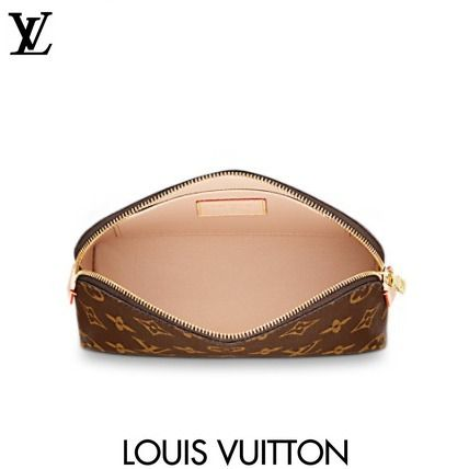 Louis Vuitton メイクポーチ LUIS VUITTON ルイヴィトン ポシェット コスメティック Monogram(3)