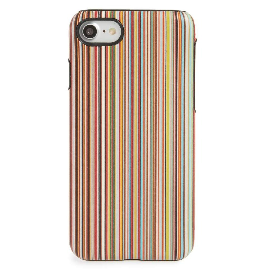 ポールスミス Multistripe iPhone 7 case