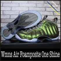 ★【NIKE】追跡発送 ナイキ Wmns Air Foamposite One Shine