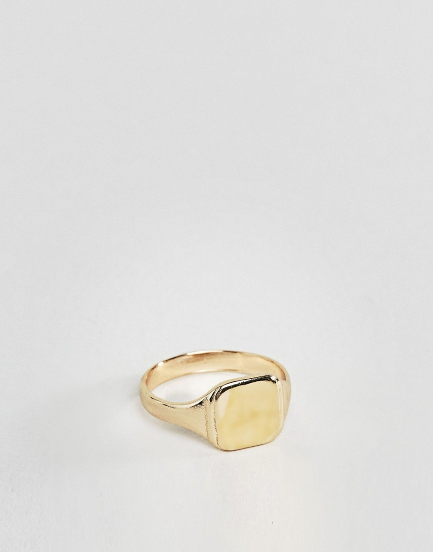 ○送料込○ ASOS Gold Pinky Ring