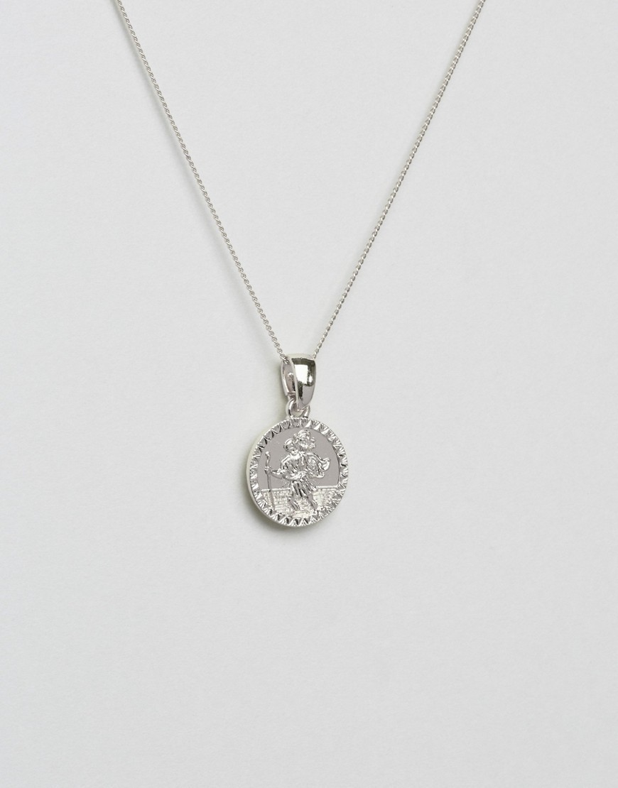 ○送料込○ Chained & Able St. Christopher Mini Medallion