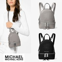 ☆Michael Kors☆Rhea ミニ Perforated Leather Backpack