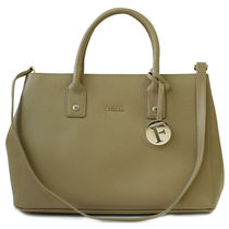 フルラ FURLA トートバッグ 2WAY LINDA S 884555 BDR5 KAKI