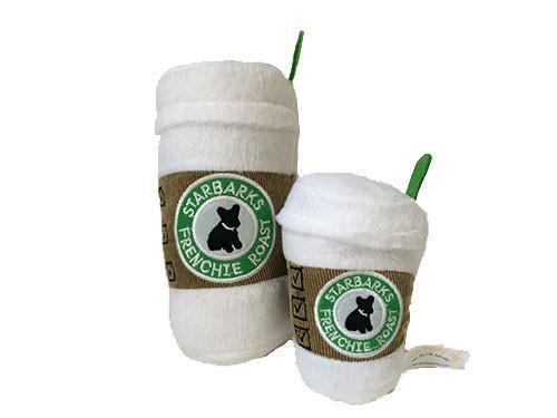 【Haute Diggity Dog】Starbarks Coffee Cup With Lid Toy トイ