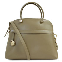 フルラ FURLA ハンドバッグ 2WAY PIPER S DOME 884951 BHV0 KAKI