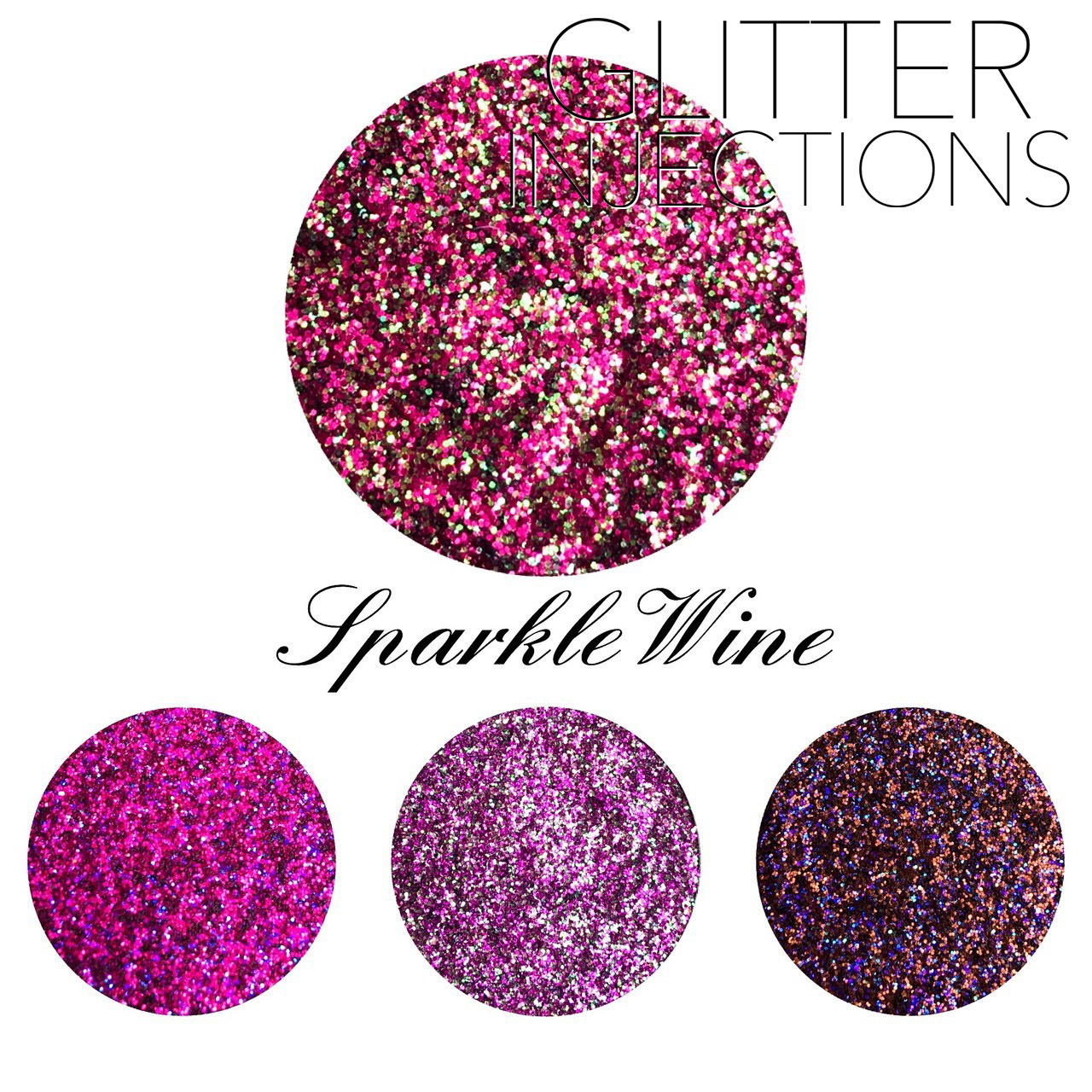 ♪GLITTER INJECTIONS♪ キラキラ SPARKLE WINE 4色入り