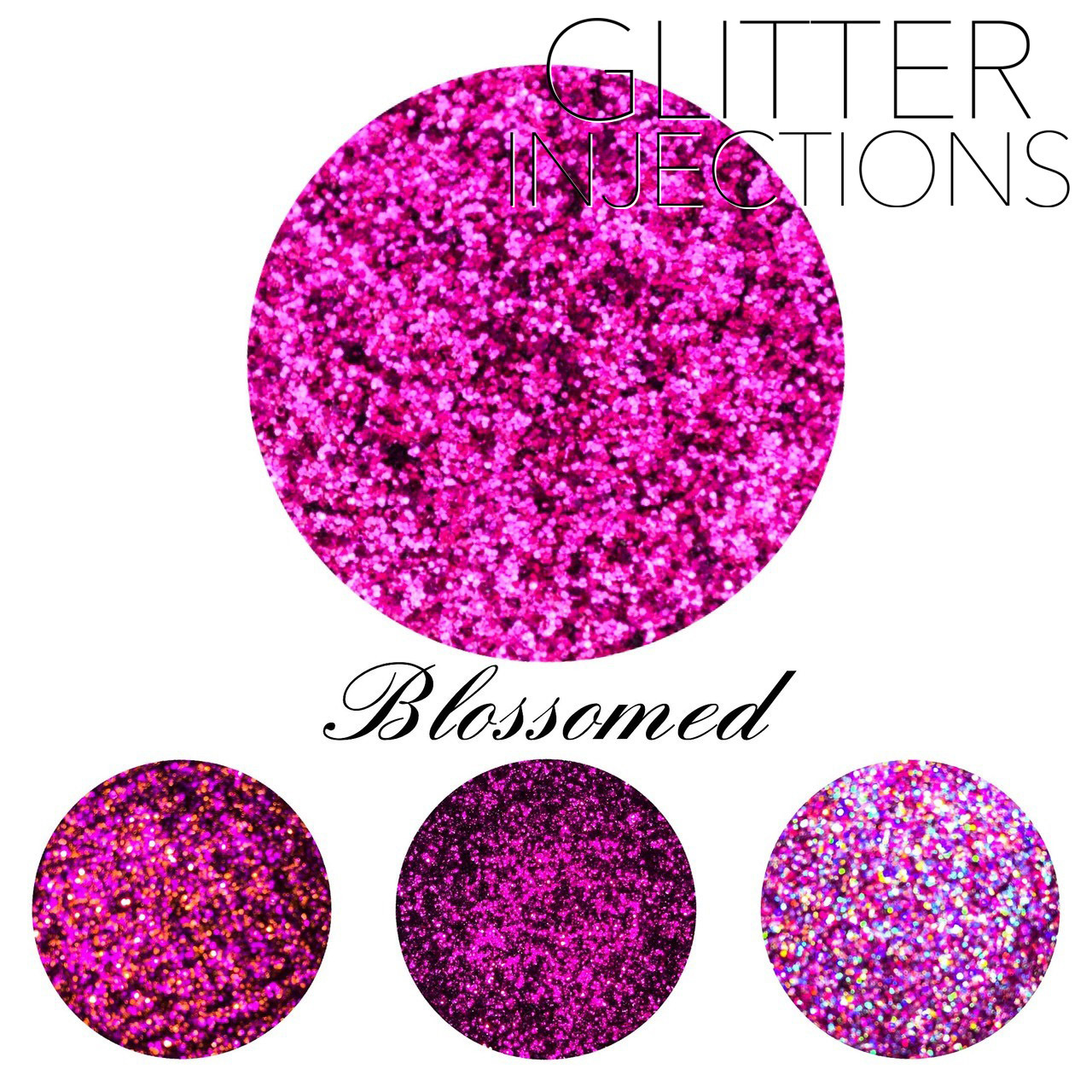 ♪GLITTER INJECTIONS♪ キラキラ BLOSSOMED 4色入り