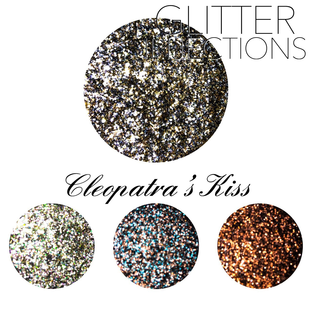 ♪GLITTER INJECTIONS♪ キラキラ CLEOPATRA'S KISS 4色入り