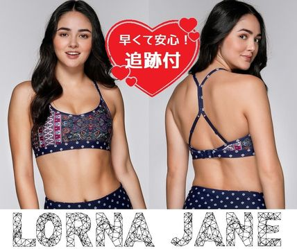 Lorna Jane フィットネストップス ★追跡有【Lorna Jane】Marrakesh Sports Bra★