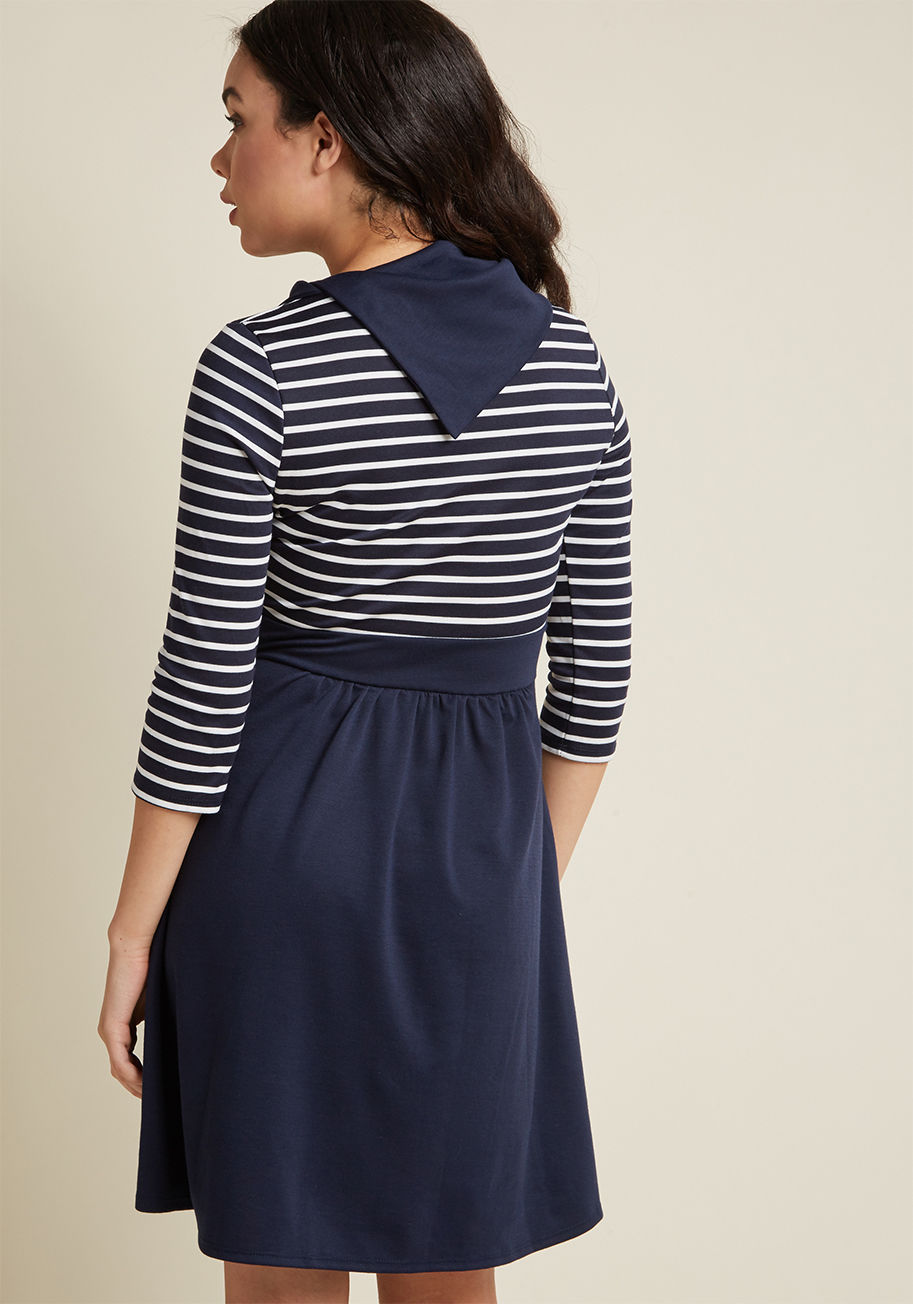 ◎送料込み◎  coach tour a-line dress in stripes - 3/4