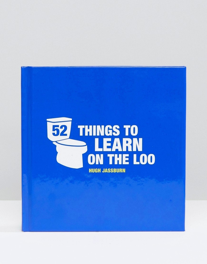 ○送料込○ 52 Things To Learn On The Loo Book