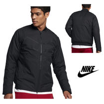 NIKE☆AS M NSW TCH FLC AROLFT BOMBR☆863727-010☆BLACK