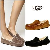 BLUE MOUNTAINS UGG BOOTS(ブルーマウンテンアグブーツ) フラットシューズ 【即完売品!】UGG Ugg Women's Ansley Ankle-High Wool Slipper