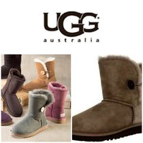 BLUE MOUNTAINS UGG BOOTS(ブルーマウンテンアグブーツ) ロングブーツ 【即完売品!】UGG  Bailey Button T Mid-Calf Wool Snow Boot