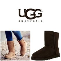 BLUE MOUNTAINS UGG BOOTS(ブルーマウンテンアグブーツ) ロングブーツ 【即完売品!】UGG Girl's Classic T Mid-Calf Suede Boot
