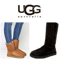 BLUE MOUNTAINS UGG BOOTS(ブルーマウンテンアグブーツ) ロングブーツ 【即完売品!】UGG Classic Tall II Leather Mid-Calf Suede Boot