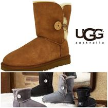 BLUE MOUNTAINS UGG BOOTS(ブルーマウンテンアグブーツ) ロングブーツ 【即完売品!】UGG Bailey Button II High-Top Sheepskin Boots