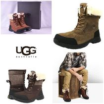 BLUE MOUNTAINS UGG BOOTS(ブルーマウンテンアグブーツ) ブーツ 【即完売品!】UGG Men's Butte High-Top Leather Snow Boot