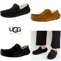 BLUE MOUNTAINS UGG BOOTS(ブルーマウンテンアグブーツ) サンダル 【即完売品!】UGG Men's Ascot Ankle-High Leather Slipper