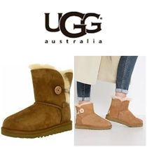 BLUE MOUNTAINS UGG BOOTS(ブルーマウンテンアグブーツ) ショートブーツ・ブーティ 【即完売品!】UGG  Bailey Button K Mid-Calf Wool Snow Boot