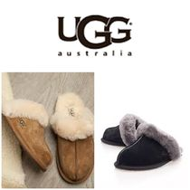 BLUE MOUNTAINS UGG BOOTS(ブルーマウンテンアグブーツ) フラットシューズ 【即完売品!】UGG  Scufette II Ankle-High Suede Slipper