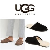 BLUE MOUNTAINS UGG BOOTS(ブルーマウンテンアグブーツ) 靴・ブーツ・サンダルその他 【即完売品!】UGG Men's Scuff Ankle-High Suede Slipper
