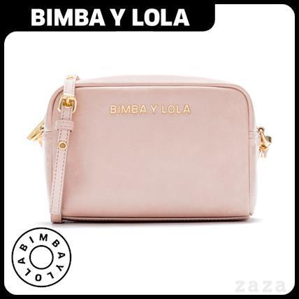 日本未入荷★BIMBA Y LOLA★Small pink crossbody bag