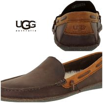 BLUE MOUNTAINS UGG BOOTS(ブルーマウンテンアグブーツ) 靴・ブーツ・サンダルその他 【即完売品!】UGG Men's Brysen Ankle-High Leather Slipper